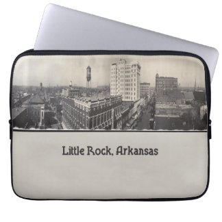 Vintage Little Rock Arkansas Laptop Sleeve