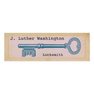Vintage Locksmith Professional Business Cards