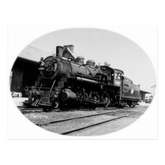 Vintage Locomotive Engine 1385 Postcards