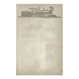 Vintage Locomotive Stationery