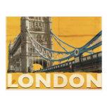 Vintage London Poster Postcard
