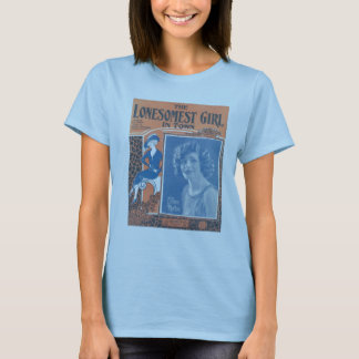 Vintage 'Lonesomest Girl in Town' Shirt