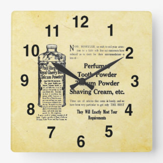 Vintage Look Bathroom Clock