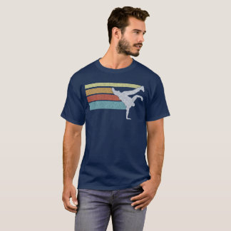 Vintage look BBOY breakdancing design T-Shirt