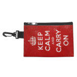 Vintage-Look Keep Calm and Carry On Accessories Bag