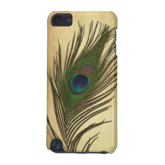 Vintage Look Peacock Feathers Elegant iPod Touch (5th Generation) Case