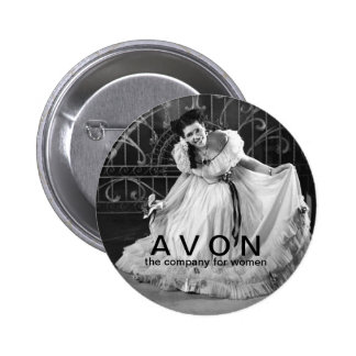 Vintage looking AVON beauty button