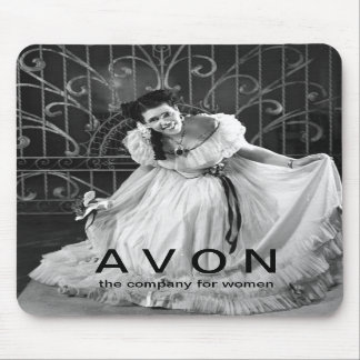 Vintage looking AVON mouse pad