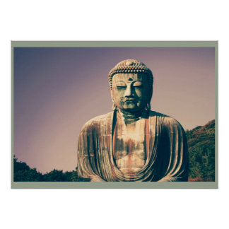 Vintage lord buddha posters