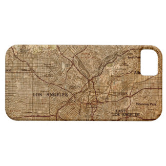 Vintage Los Angeles Map iPhone Case