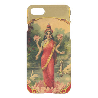 Vintage Lotus Flower Hindu Goddess Lakshmi iPhone 8/7 Case