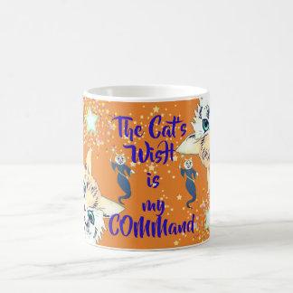 Vintage Louis Wain Fairy Boss Cat Coffee Mug
