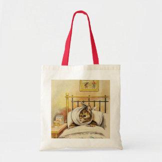Vintage Louis Wain Poorly Cat Owner Gift Tote