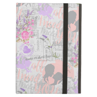 Vintage Love, All I Need is You iPad Air Cover