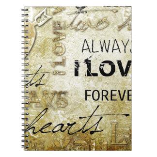 Vintage Love Notebook