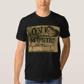 Vintage Love oldies music 3 T-shirt