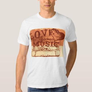 Vintage Love oldies music T-shirt