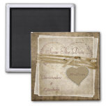 Vintage Love Paper & Heart Save The Date Wedding