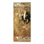 Vintage Love Romance, Art Nouveau, Alphonse Mucha Announcement