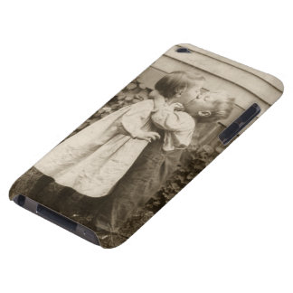 Vintage Love Romance, Children Kissing, First Kiss iPod Touch Cases