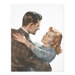 Vintage Love Romance Newlyweds Shall We Dance? Invitations