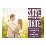 VINTAGE LOVE   SAVE THE DATE ANNOUNCEMENT