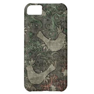 Vintage LoveBirds Embossed Print Case iPhone 5 iPhone 5C Cases
