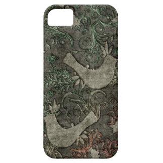 Vintage LoveBirds Embossed Print Case iPhone 5 iPhone 5 Covers