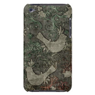Vintage LoveBirds Embossed Print iPod Touch iPod Touch Case-Mate Case