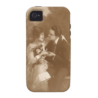 Vintage Lovers Vibe iPhone 4 Covers