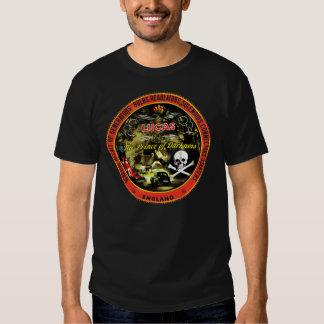 Vintage Lucas Electronics sign T-shirts