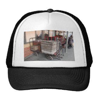 Vintage luggage and wicker basket - Range Cap