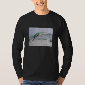 Vintage Lure Series Green Jointed Eel T-Shirt