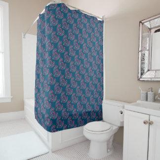 Vintage luxury design. Heart stylish pattern Shower Curtain