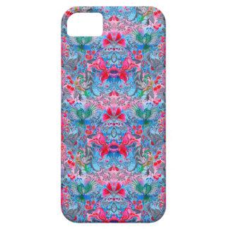 Vintage luxury floral garden blue bird lux pattern iPhone 5 cover