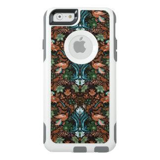Vintage luxury floral garden gold bird lux pattern OtterBox iPhone 6/6s case