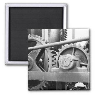 Vintage machinery refrigerator magnet
