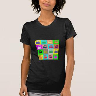 VINTAGE Machinery Patterns Tee Shirts