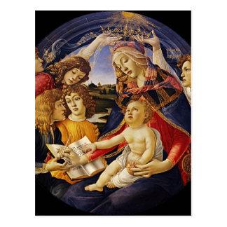 Vintage Madonna Christmas Postcard
