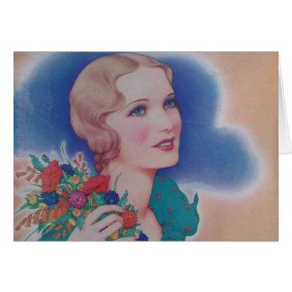 Vintage Magazine 1931 Greeting Card