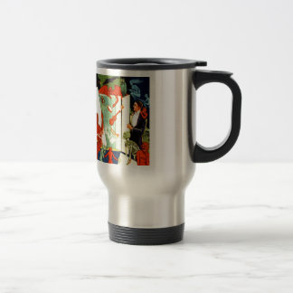 Vintage Magic Magician Demons and Devils Coffee Mugs