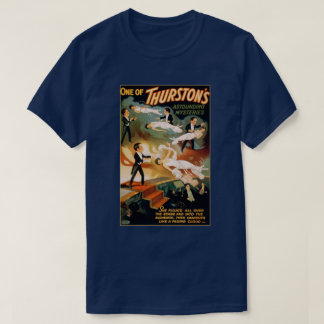 Vintage Magic Magician Thurston Mysteries T-Shirt