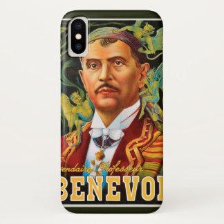 Vintage Magic Poster, Legendary Professor Benevol iPhone X Case