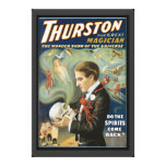 Vintage Magic Poster, Thurston, The Great Magician Canvas Print