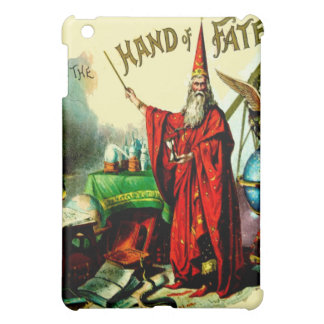 Vintage Magic Wizard Merlin Fate Litho Label Art iPad Mini Cover