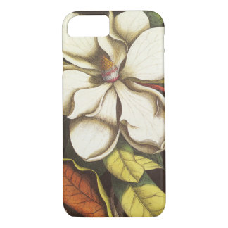 Vintage Magnolia Flowers Plant With Seeds iPhone 8/7 Case