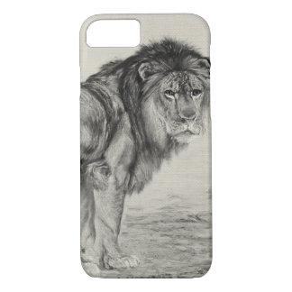 Vintage Majestic Lion iPhone 8/7 Case