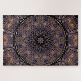 Vintage Mandala Jigsaw Puzzle