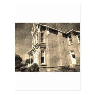 Vintage Mansion Postcard