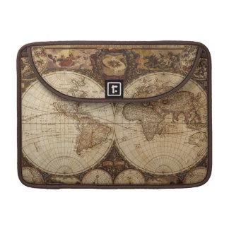 Vintage Map MacBook Pro Sleeve